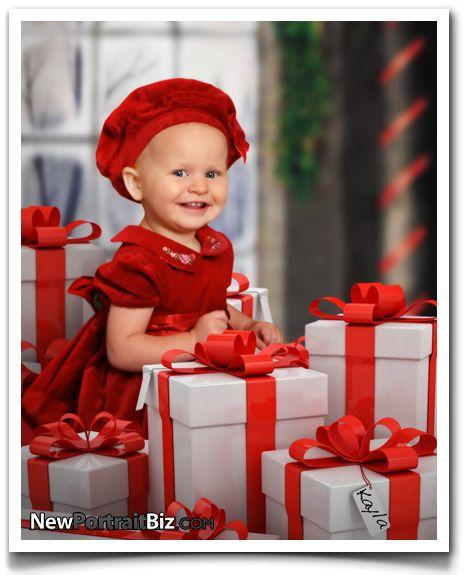 30 Christmas Picture Ideas For Kids | New Portrait Biz Digital Photography Blog