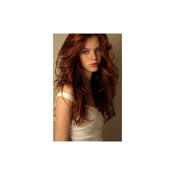 How To Get Natural-Looking Red Hair Daily Makeover via Polyvore featuring accessories, hair accessories and red hair accessories