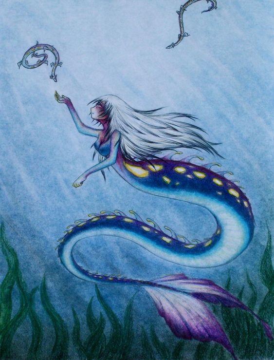 Deep sea mermaid by Sage001