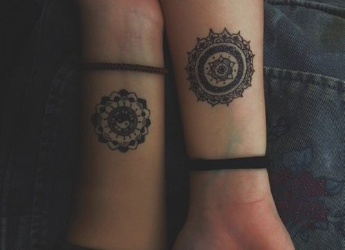 Yin yang tattoos tumblr google search midlife crisis for Mandala tattoo tumblr