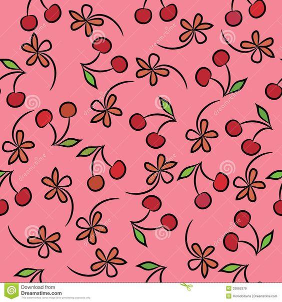 papel de cerejinhas - Pesquisa Google