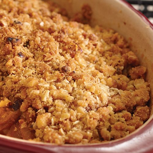 how to make apple crumble with cooking apples