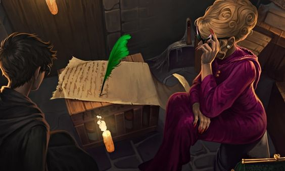 JK Rowling, writing as gossip columnist 'Rita Skeeter' for the Pottermore site, exposes his first grey hairs and Ron Weasley's now-thinning thatch