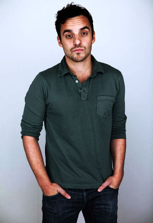 """Jake Johnson- """"I always thought, if you're gonna do TV, you want to play a straight, solid, pillar-of-the-show kind of guy."""""""