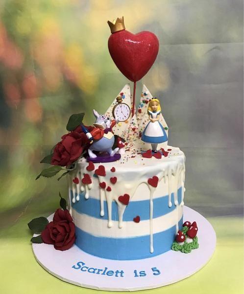 Tea Party  Birthday Party Cake topper  w #