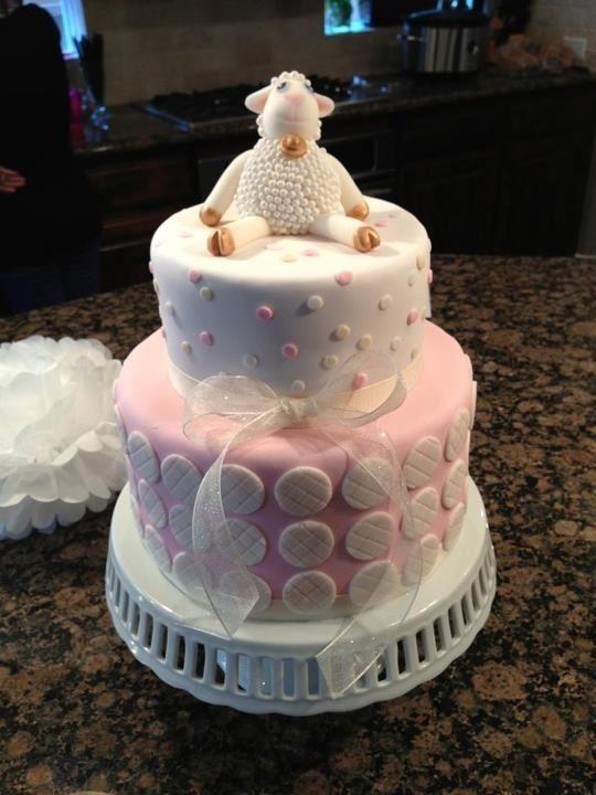 Baby Shower Lamb Cake Ideas Beautiful Girl Baby Shower Cake Style