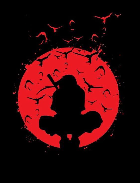 Itachi Did The Red Moon First In 2020 Itachi Uchiha Itachi Anime Naruto