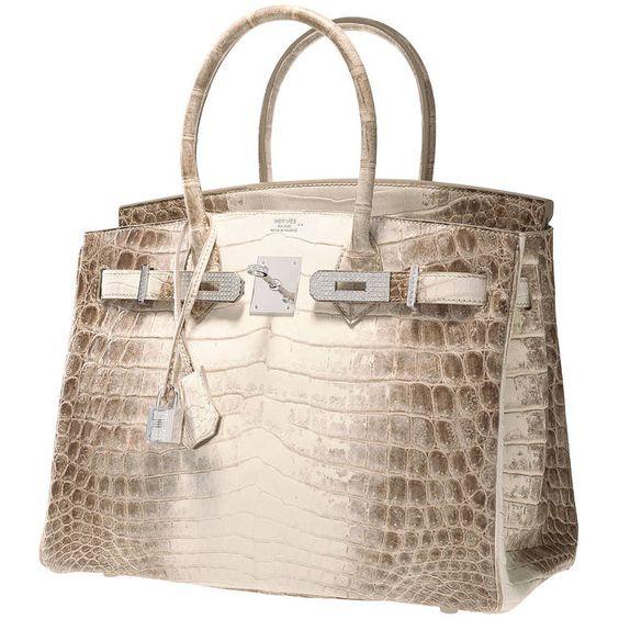 fake hermes bags - ONE \u0026amp; ONLY HERMES BIRKIN BAG 30cm MATTE HIMALAYAN CROCODILE 18K ...