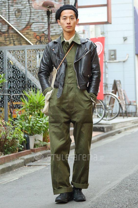 DAIKI | used THE NORTH FACE good thing HERMÈS | 3rd week Dec. 2014 | Harajuku | Tokyo Street Style | TOKYO STREET FASHION NEWS | style-arena.jp