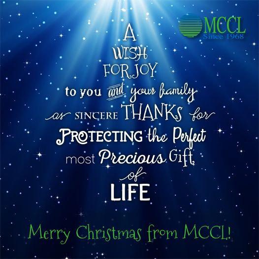 Merry Christmas from MCCL!
