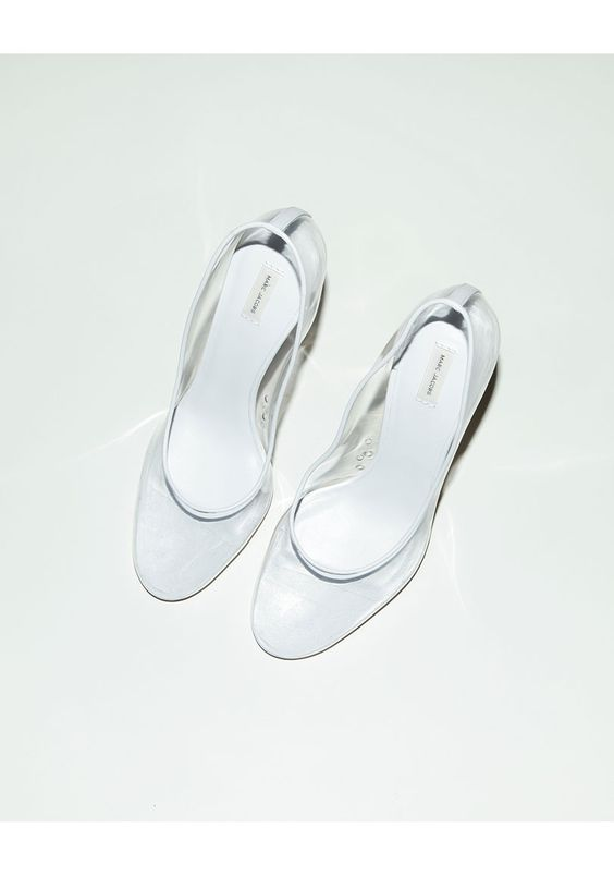 Marc Jacobs Transparent Pump: