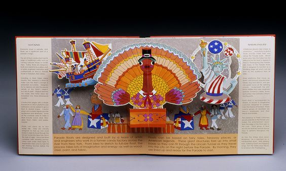 Pamela Pease / Macy's on Parade Pop-Up Book | PAINTBOX PRESS
