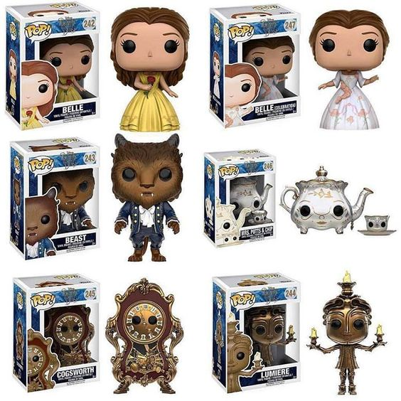 Image result for new beauty and the beast pop collection