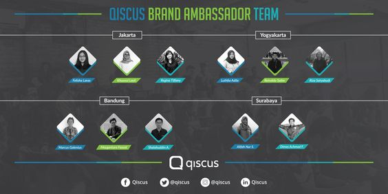 qiscus, chat sdk, brand ambassador,