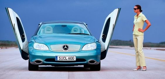 Daimler Chrysler F 200 U0027Imaginationu0027 Concept (1996) | Mercedes | Pinterest  | Cars And Wheels