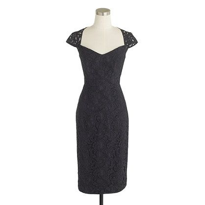J.Crew - Tinsley dress in Leavers lace