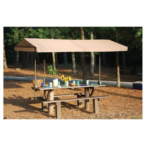 Shadelogic Quick Clamp Canopy Tilt Mount 10 3 M Shelterlogic Target With Images Picnic Table Portable Canopy Canopy