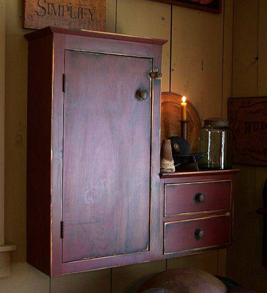 Fine period reproduction antique furniture primitive