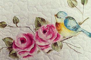25/04/2014 Flores e passarinho  – Karla Barbosa