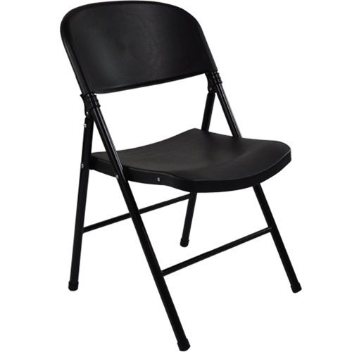 Black Poly Folding Chair Oversized Fcim Bb With Images
