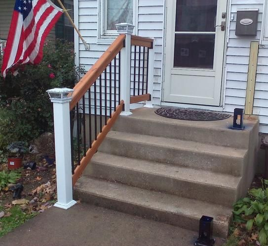 Pin On Step Railing Outdoor