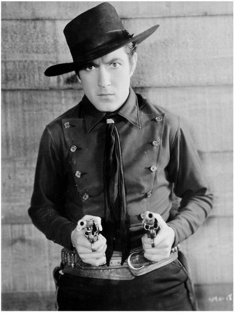 BILLY THE KID (1930) - John Mack Brown as 'William Bonney' alias 'Billy the Kid - - Based on novel by Walter Noble Burns - Directed by King Vidor - MGM - Publicity Still.