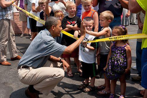 #Obama2012 we got your back
