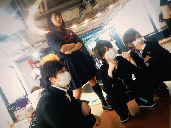 """一希さんはTwitterを使っています: """"ワクワク学校両日! 東京も両日 一瞬コマさん、ほとんど学ラン 全員挨拶いきます✨ 見た方も気になった方も是非❗️ #ワクワク京セラで見かけたよって方RT #京セラでこいつ見かけたよって人RT #少しでも気になったらRT http://t.co/mSeG6MIUVQ"""""""