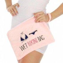 Knitting Factory Water Proof Wet Bikini Bag Selection (Pink) - $12.37