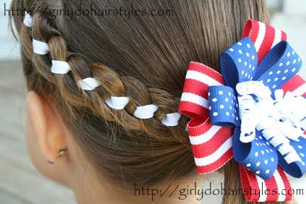 Independence Day Hairstyle