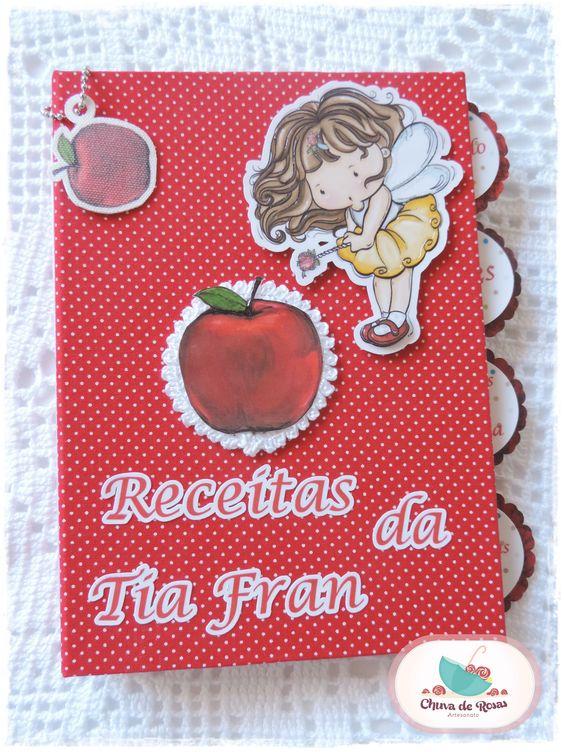 Livro de Receitas - Tia Fran Detalhes - Repartições