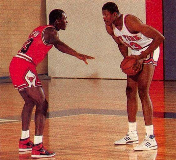 Patrick-Ewing VS Michael Jordan