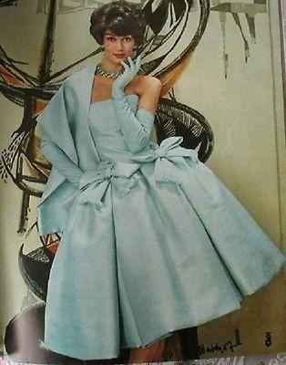 1958 french fashion magazine femme chic haute couture famous designers paris ebay beautiful. Black Bedroom Furniture Sets. Home Design Ideas