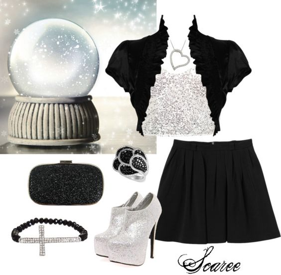 """""""Black Ice (R4)"""" by scaree ❤ liked on Polyvore"""