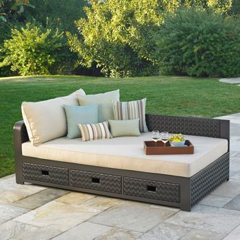 Del Sol Outdoor Daybed By Mission Hills Outdoor Daybed Outdoor