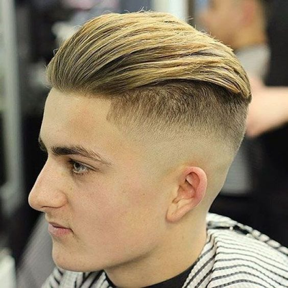 23 Best Bald Fade Haircuts In 2021 Slicked Back Hair Fade Haircut Young Men Haircuts