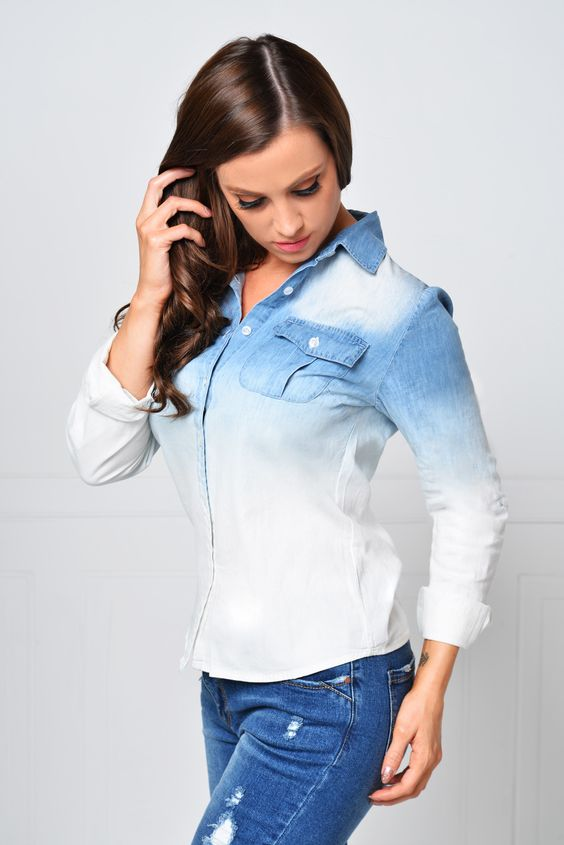 Positively Perfect Wash Denim Shirt