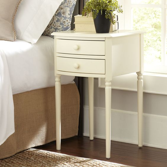 Birch Lane Canfield Side Table Classic Bedside Tables Bedside Table Design End Tables With Storage