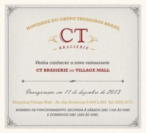 Novo CT Brasserie! - Mascarpone e Chocolate