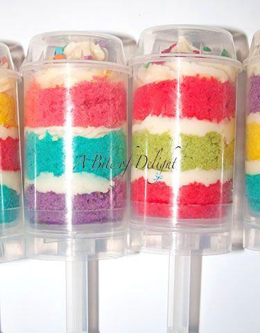 Push Pops - Wedding Cakes, Celebration Cakes, Cake Pops, Cup Cakes - A Bite of Delight serving all areas including Warminster, Wiltshire, London and Essex