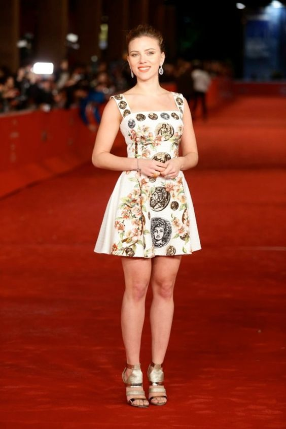 Fabulously Spotted: Scarlet Johansson Wearing Dolce & Gabbana - 'Her' 8th Rome Film Festival Premiere - http://www.becauseiamfabulous.com/2013/11/scarlet-johansson-wearing-dolce-gabbana-her-8th-rome-film-festival-premiere/