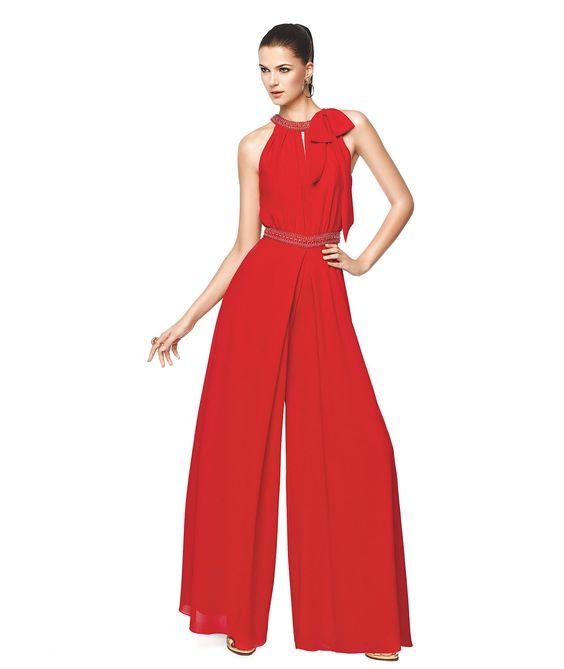 NELIA - Combinado de fiesta con pantalón largo. Pronovias 2015 | Pronovias