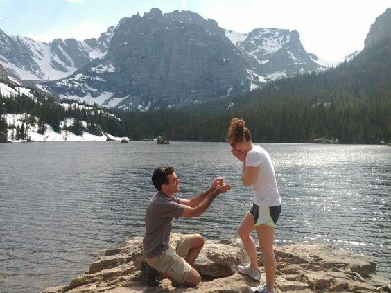 Lake Proposal ~ Willow Engagement Ring