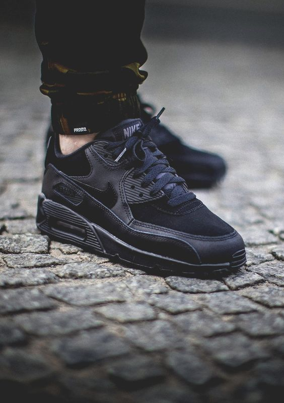 air max 90 all black
