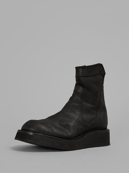 black leather ankle boots julius ma wish list ss15 pinterest products mens products. Black Bedroom Furniture Sets. Home Design Ideas