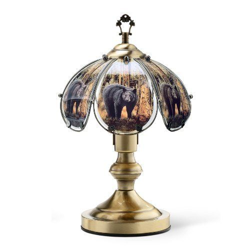 Ok Lighting Ok 603ab Be8 14 25 Inch Touch Lamp With Bear Theme Antique Bronze Touch Lamp Gold Standing Lamps Rose Gold Lamp