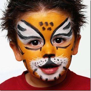 Maquillaje Niños, Maquillaje Cumples, Maquillaje Disfraces, Caritas Pintadas, Mascaras, Maquillajey Vestidos, Tiger Disfraces, Disfraces Circo, Acto Barto