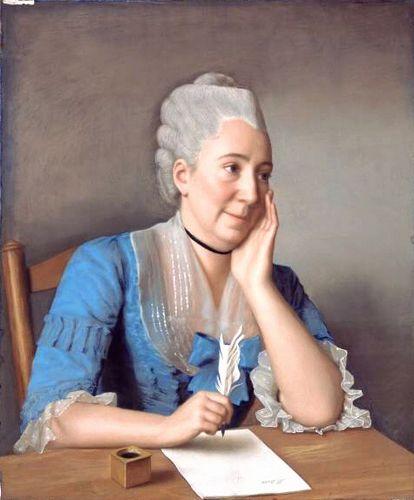 Madame Marc Liotard de la Servette, nee Marianne Sarasin (1733-1827), 1775 by Jean-Etienne Liotard (1702-1789)