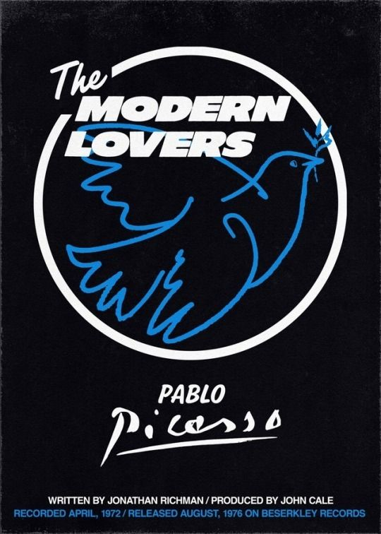 The Modern Lovers Pablo Picasso The Modern Lovers Poster On Writing