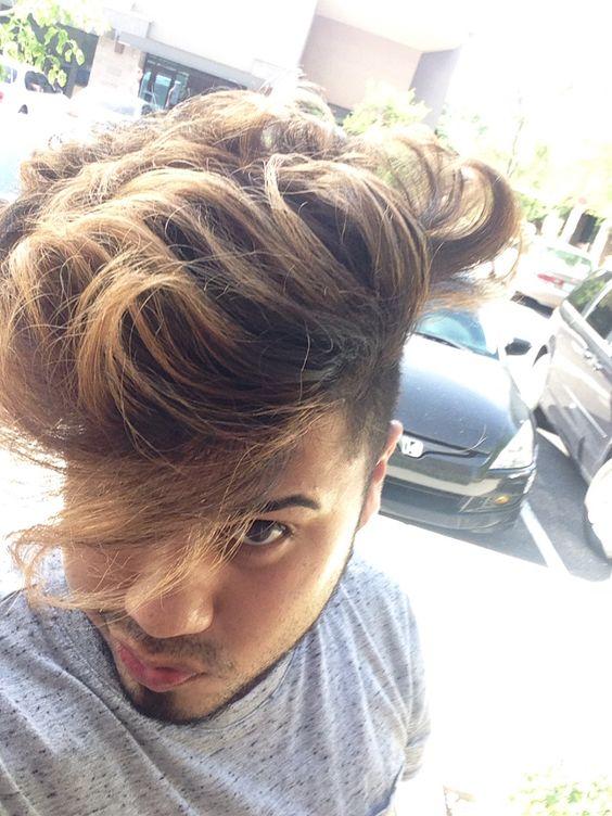 Mens balayage. Brolyage hair by sandy